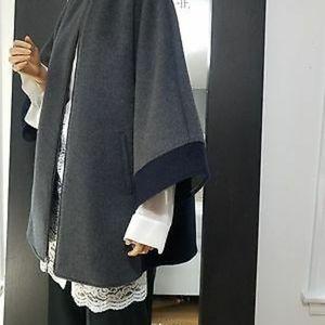 Bcbg Max Azria wool poncho